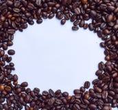 Кофейные зерна для текстуры Стоковое Изображение RF