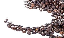 Кофейные зерна стоковые изображения