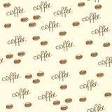 Кофейные зерна иллюстрация штока