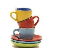 кофейные чашки стоковая фотография