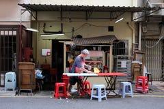 Кофейня в Чайна-тауне Стоковое фото RF