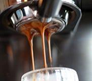 Кофейня съемки эспрессо кофе Стоковое Изображение RF