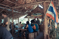 кофейня, Таиланд Стоковое фото RF
