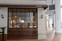 кофейня westwood стоковые изображения