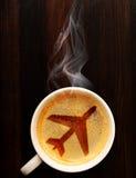 Кофе авиапорта Стоковое фото RF