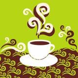 кофе ароматности Бесплатная Иллюстрация