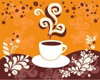 кофе ароматности Иллюстрация штока