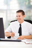 Кофе бизнесмена выпивая Стоковые Изображения RF