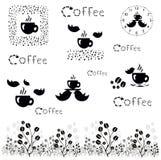 кофе больше времени концепция кофе вектора Стоковая Фотография
