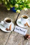 кофе больше времени Стоковые Фото