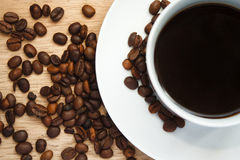 кофе больше времени Стоковое фото RF