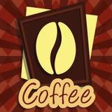 Кофе вектора иллюстрации графический Стоковое Фото