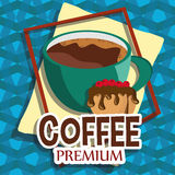 Кофе вектора иллюстрации графический иллюстрация вектора
