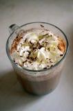 Кофе Вена покрынный с сливк хлыста Стоковая Фотография RF