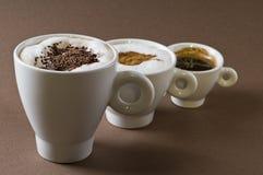 кофе выпивает предметы стоковые фотографии rf