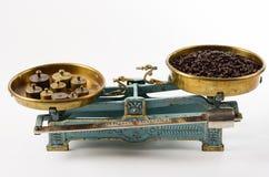 Кофе в балансе Стоковое Изображение