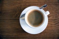 Кофе в кофейне Стоковое Изображение
