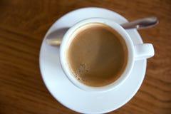 Кофе в кофейне Стоковое фото RF