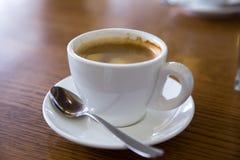 Кофе в кофейне Стоковые Фото
