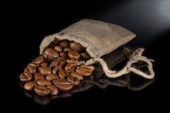Кофе в сумке Стоковые Изображения