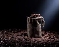 Кофе в сумке Стоковые Изображения RF
