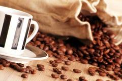 Кофе в чашке Стоковые Изображения