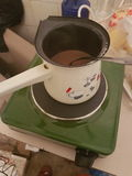 Кофе в balcan пути Стоковые Изображения