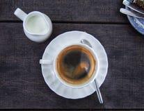 кофе горячий Стоковое фото RF