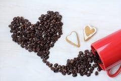 Кофе для любовников Стоковое Фото