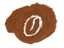Кофе зерна изображения Стоковые Фото