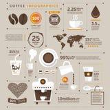 Кофе значков иллюстрация вектора