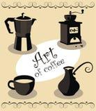 кофе искусства Стоковые Изображения RF