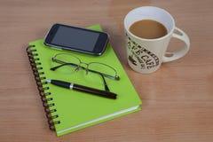 Кофе и аксессуар Стоковая Фотография RF
