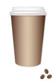 кофе идет к стоковое изображение