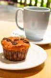 Кофе и закуска Стоковое Изображение