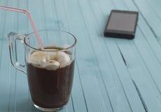 Кофе и мороженое Стоковая Фотография