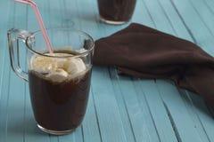 Кофе и мороженое Стоковые Фото
