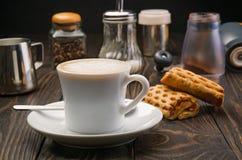 Кофе и печенье Стоковое Изображение RF