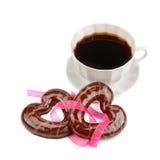 Кофе и печенья Стоковое фото RF