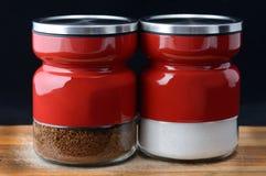 Кофе и сахар стоковые изображения