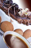 Кофе и торт Стоковое Изображение