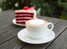 Кофе и торт Стоковое фото RF