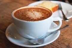 Кофе и торт Стоковые Изображения