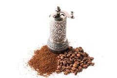 Кофе и точильщик Стоковые Фотографии RF