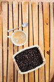 Кофе и фасоли Стоковое фото RF