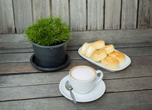 Кофе и хлебопекарня стоковое изображение