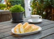 Кофе и хлебопекарня стоковая фотография rf