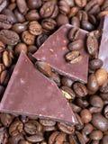 Кофе и шоколад Стоковые Фотографии RF