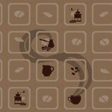 Кофе - иллюстрация Стоковое фото RF