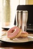 Кофе и Donuts Стоковые Фото